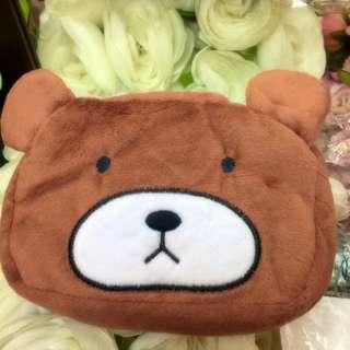 全新 熊熊 面紙套 化妝包