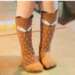 ⬇️出清價50元,可愛松鼠兒童中筒襪子