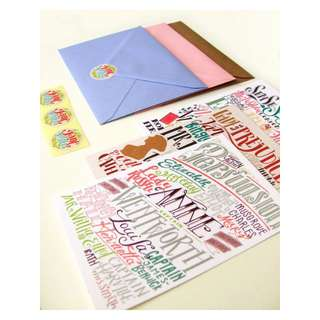 Pride & Prejudice, Persuasion and Sense and Sensibility cards (3.94 x 5.91) set of 3 cards with matching envelopes