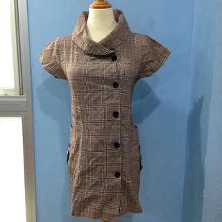 Brit Trench Dress