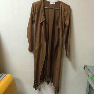 韓國流蘇外套