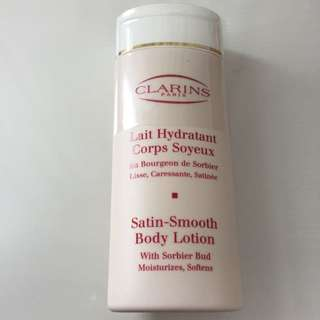 Clarins Satin-smooth Body Lotion