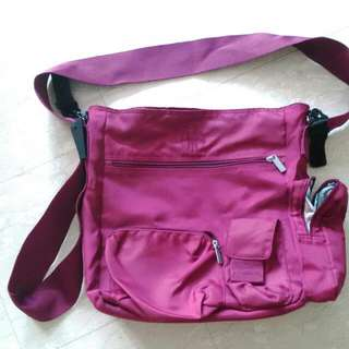 Preloved LASSIG Diaper Sling Bag