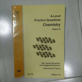 Owl Brand A Level H2 Practice Questions Chem