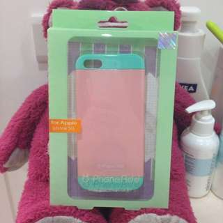 手機殼 iPhone 5/5s 粉綠