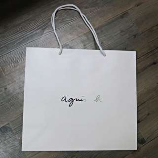 降價🌟 Agnes b 專櫃正品 紙袋