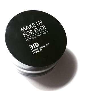 Make up forever 全新HD透明蜜粉
