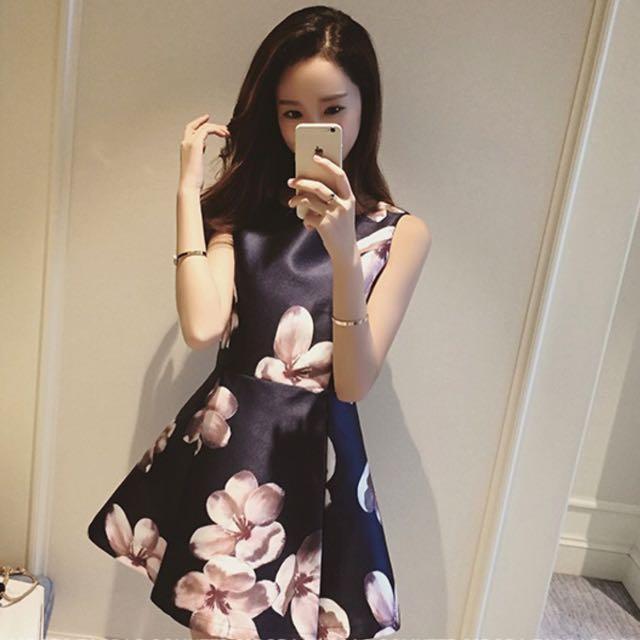 大花名媛蓬蓬裙