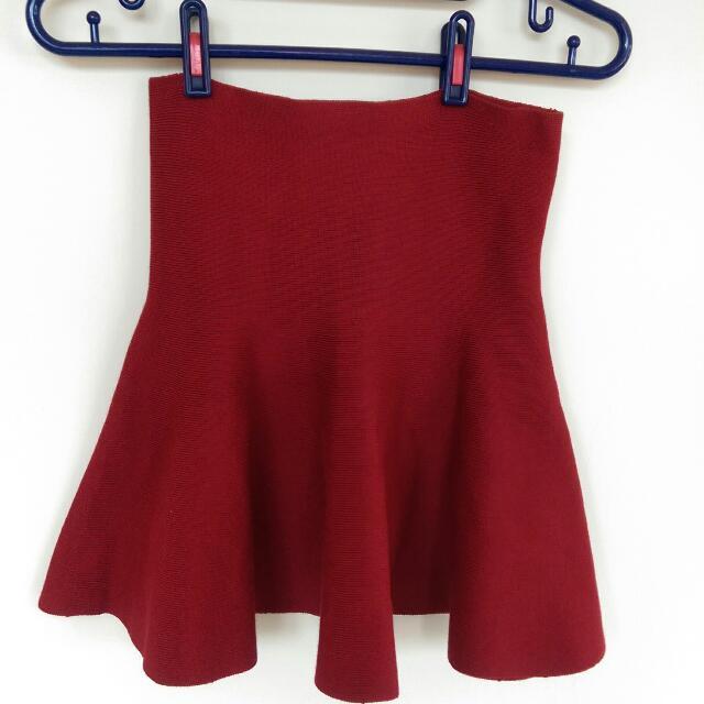 針織彈性百搭裙🎉紅