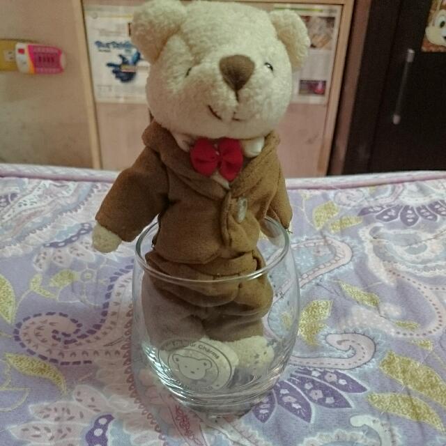 杯子泰迪熊