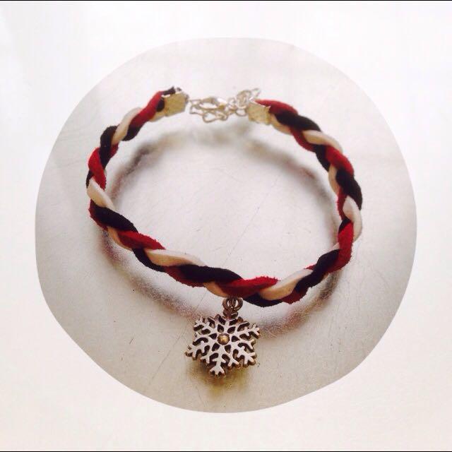 聖誕🎄雪花手鍊❄️