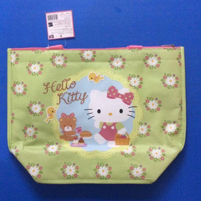 (狂降)全聯 春遊野餐趣 Hello Kitty保溫/冷袋