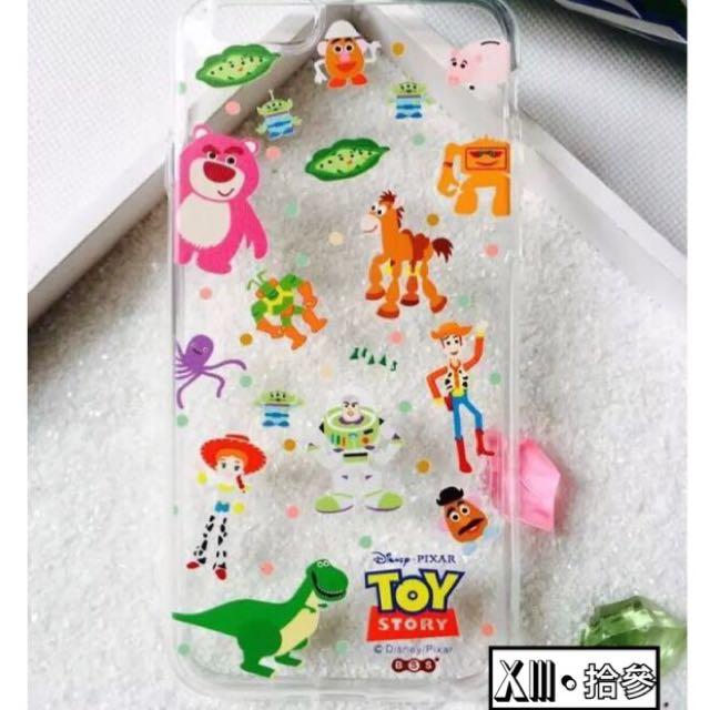 玩具總動員透底軟殼(apple6,6plus適用)✨兩件350✨