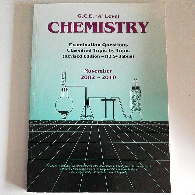 Chemistry Topical Ten Year Series