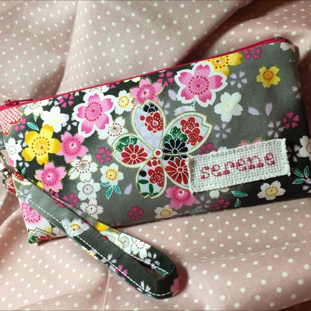 Handmade Personalized Zipper Pouch Pencil Case