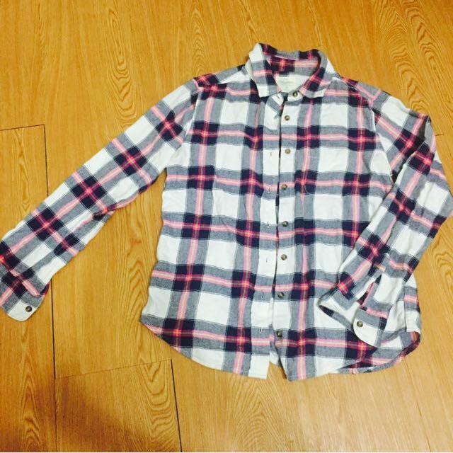 Lative格子襯衫