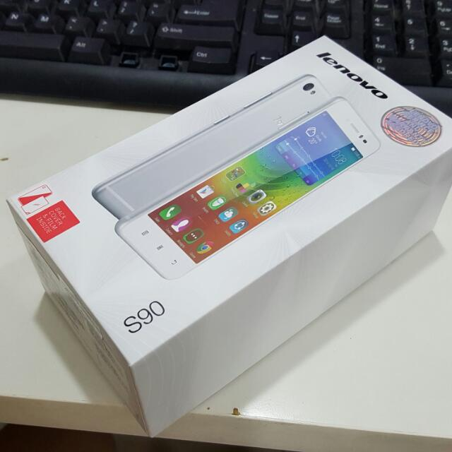 Lenovo S90 Gray Sealed In Box Original Malaysia Warranty