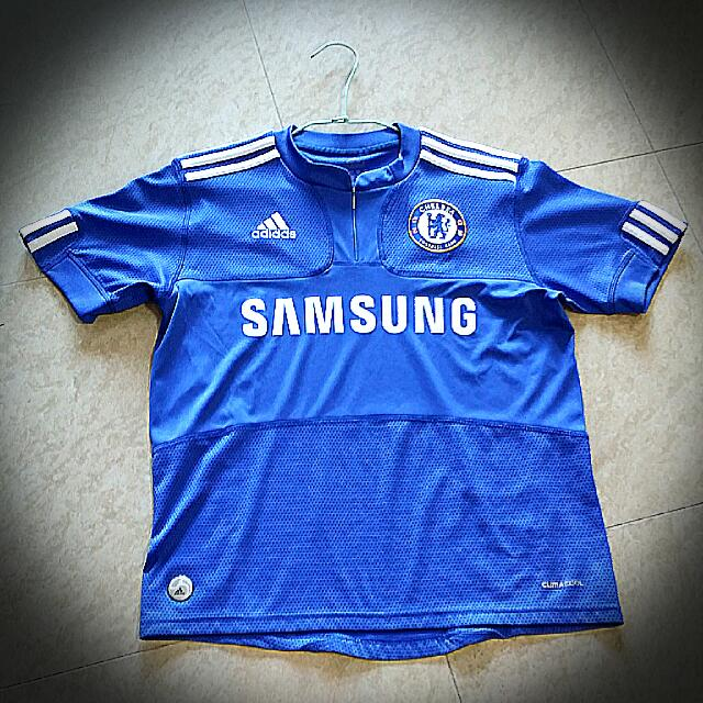 sale retailer 15b46 7d204 Preloved Adidas Samsung Chelsea Jersey, Men's Fashion ...
