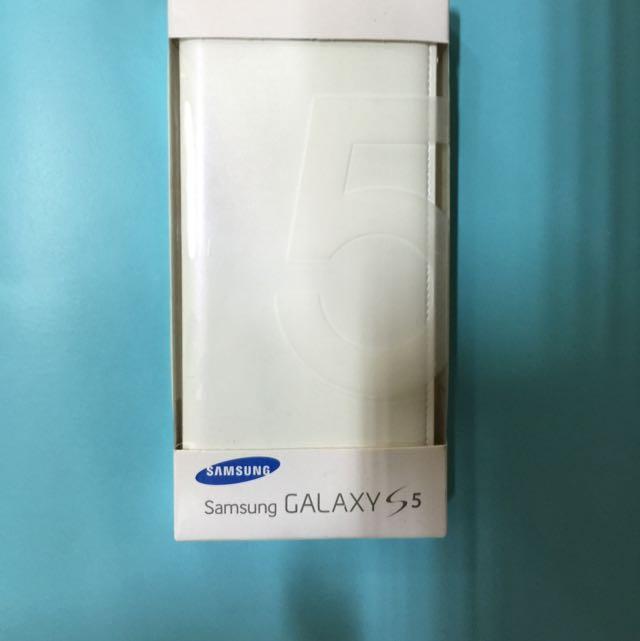 Samsung 原廠皮套(S5)