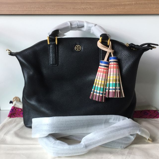 46f8444c4a5 Tory Burch MULTI-COLOR SMALL SLOUCHY SATCHEL