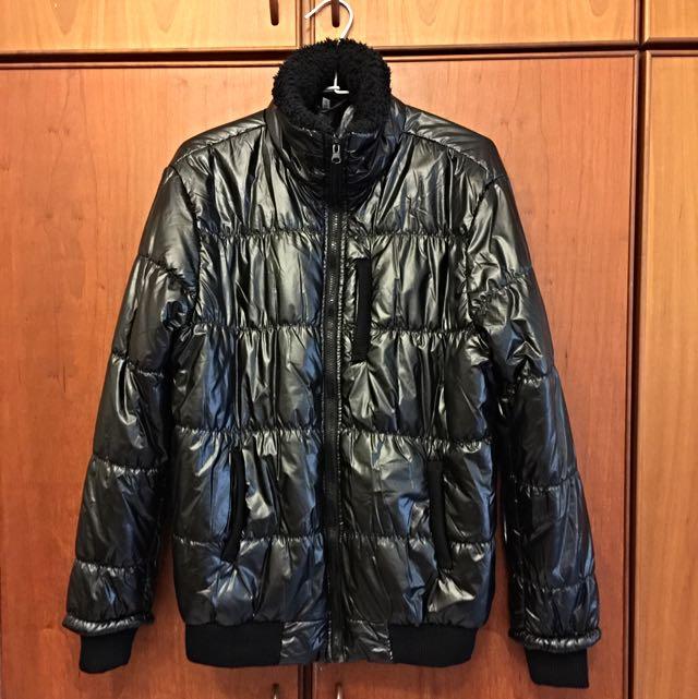 🕶二手🕶韓版男款皮質外套(XL)