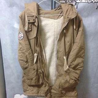 🌟內鋪棉  風衣軍外套