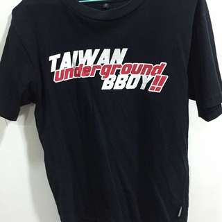 under ground Bboy tee