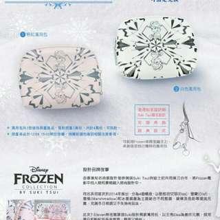 7-11冰雪奇緣萬用包(粉色)