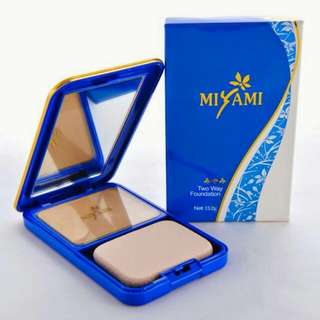 "Bedak Miyami ""2 Way Foundation"""