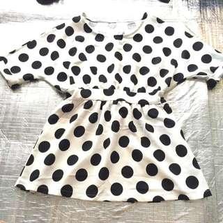 黑白點點⚫️⚪️夏季洋裝🌻