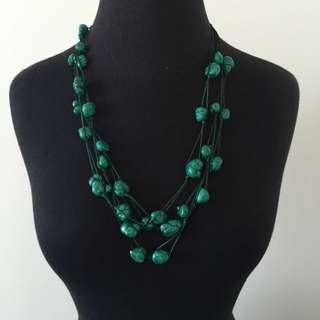 Gorgeous Green Necklace