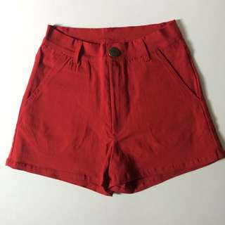 G Love 紅色短褲