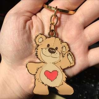 現貨 梨花熊鑰匙圈