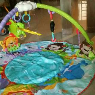 Fisher Price Gym Mat (With Sensory Balls)