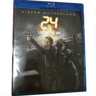Brand New Blu-Ray 24 Hours: Live Another Day