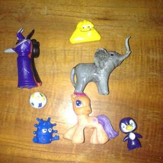 Assorted Toys, Toy Story, My Little Pony, Bouncy Ball
