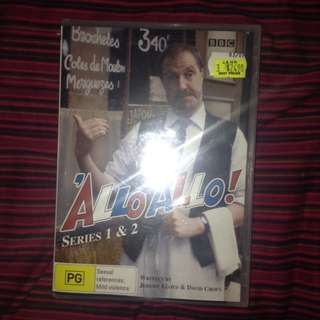 Allo Allo Series 1 And 2 In Wrapping