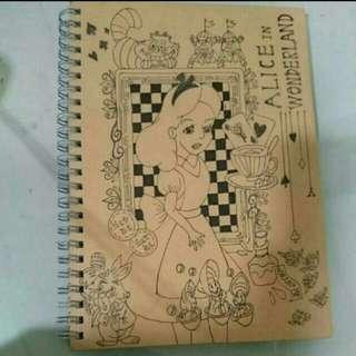 <售>愛麗絲手繪手帳(附贈品