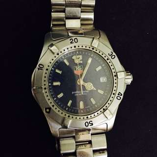 Tag Heuer Stainless Steel Unisex Watch