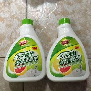 浴室清潔劑2瓶