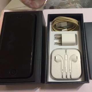 I Phone 5 16G黑色