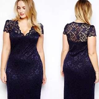 Lacy Blue Dress(Pending)