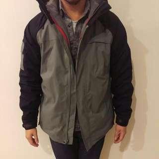 Oakley雙層禦寒連帽外套