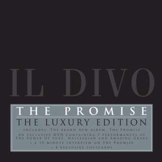 IL DIVO- The Promise CD+DVD Pop Audio Music CD