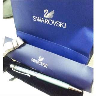 全新swarovski鋼筆禮盒 附紙袋