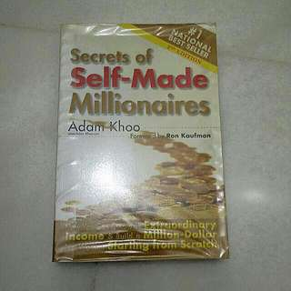 Secret Of Self Made Millionaire By Adam Khoo