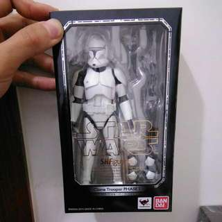 Star wars 複製人士兵 SHF 現貨