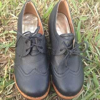 木屐 楔型鞋 顯瘦 不撞鞋 23.5號
