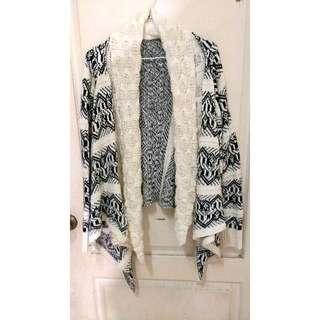 Ruru's Shop🌸全新✨民俗針織長短外套