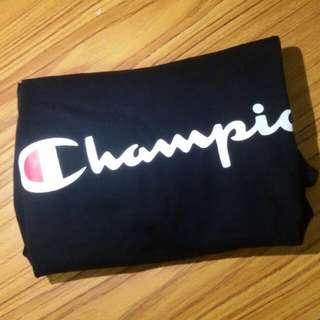 Champion Logo 短T